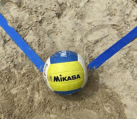 Es leuchtet wieder blau im Sand